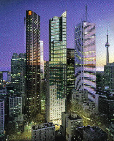 Artist Rendering - Trump International, Toronto (middle building)