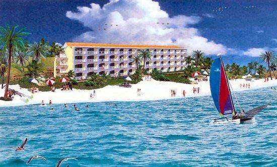 Caicos Beach Club Resort & Marina, artist rendering