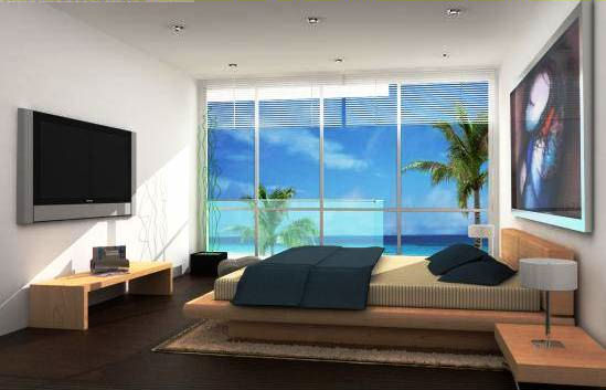 The Jones Residance Bala-beach-bedroom
