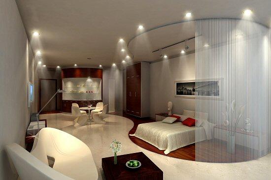 غرف نوم على الموضة