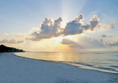 sunset st. george island
