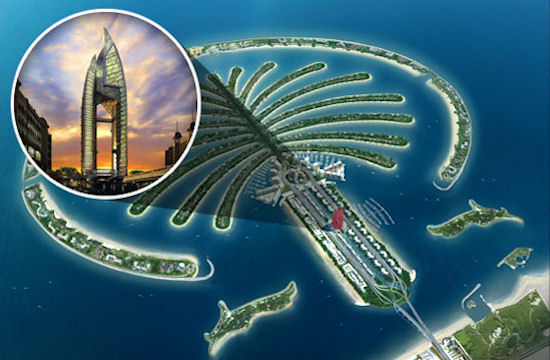 White Collar dubai map of the world islands