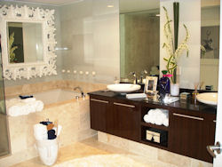 Master Bathroom at the Trump Hollywood