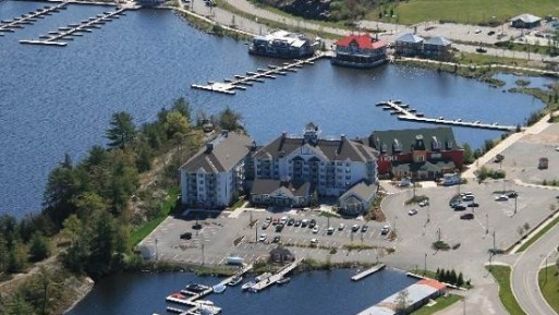 muskoka-Marriott Aerial lakefront