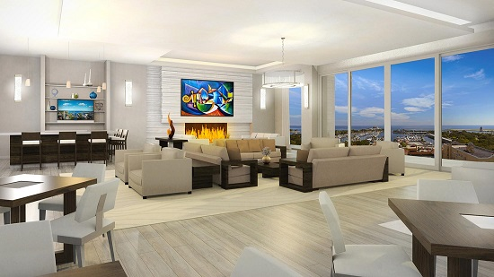 Floor-to-ceiling windows will offer incredible views of St. Pete from every angle.