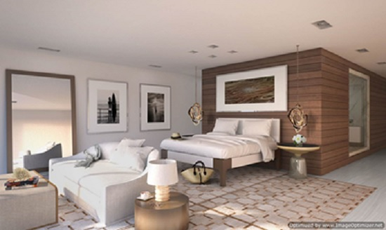 Master bedrooms will include spacious sitting areas.