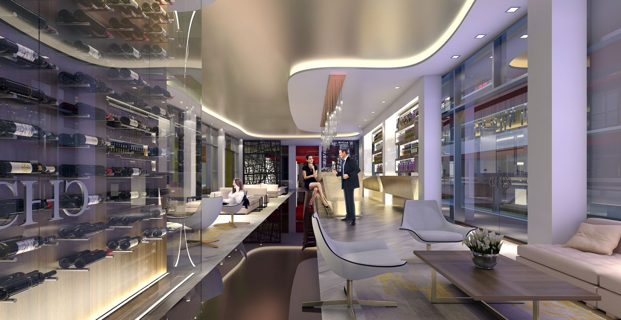 Melia Costa Hollywood will have a lounge with entertainment area.