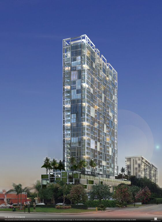 The Bentley Edgewater will be the second Bentley to open in South Florida.