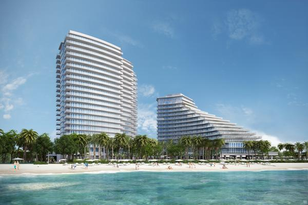 Auberge Beach Residences & Spa will be a new oceanfront condominium.