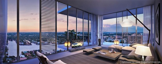 The condos will feature an open concept design and floor-to-ceiling windows.