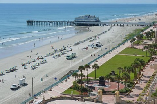"Daytona Beach is often referred to as ""the world's greatest beach."""