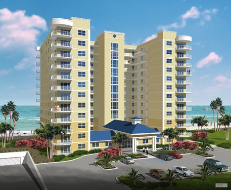 All condos will have views of the ocean from their large windows or oversized balcony.