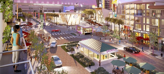 One Daytona will be a mixed-use development with hotels, retail, restaurants and more.