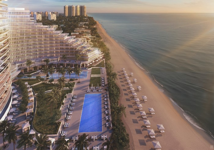 Construction on Auberge Beach will begin the end of this year.
