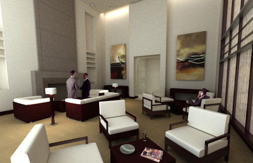 Contemporary in design, Allure will have a dramatic two-story lobby.
