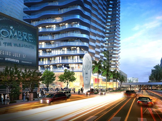 Auberge Miami will be a 60-story, 380+ condominium tower.