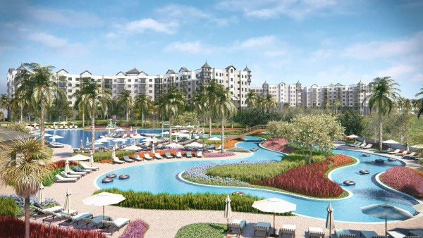 The Grove Resort will have 3 large pools and a spa.