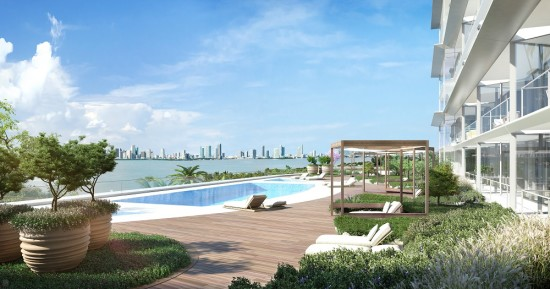 The pool will feature a spa, cabanas, daybeds and a bar area.