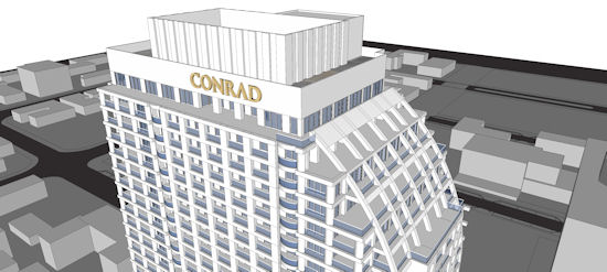 Conrad ft lauderdale beach residences luxury condo hotel for Architecture firms fort lauderdale