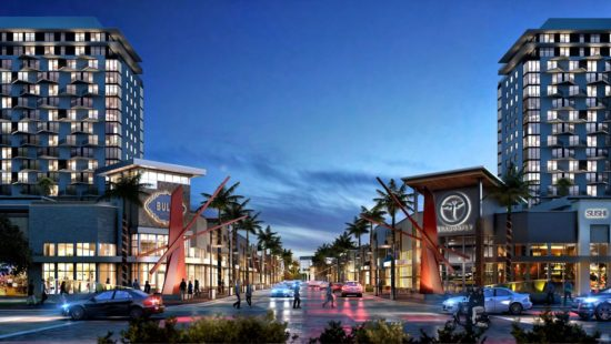 The main street of Downtown Doral will have locally-owned restaurants, shops and businesses.