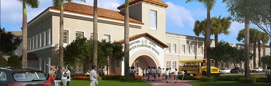 A new charter elementary school will soon be built in Downtown Doral.