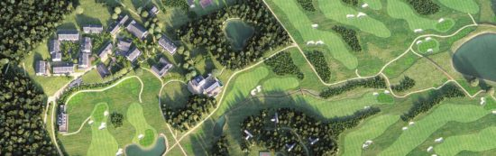 An 18-hole golf course is being created by industry expert Bruce Weller.