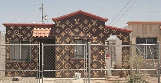 Jackie said she wanted a prestigious designer home, so I suggested this Louis Vuitton cottage.