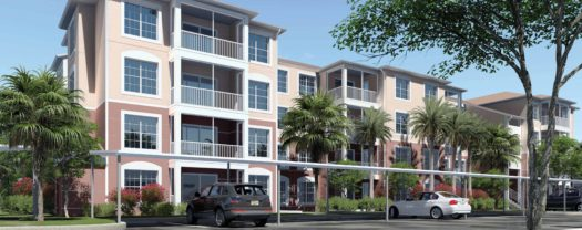 The last two buildings of Majestic Palms will have 80 individual condos.