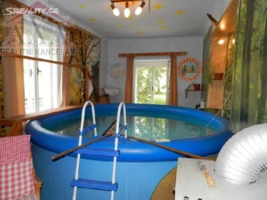 I told Jackie this house comes with an indoor pool.