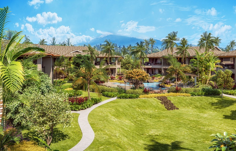 Luana Gardens Villas in Maui, Hawaii