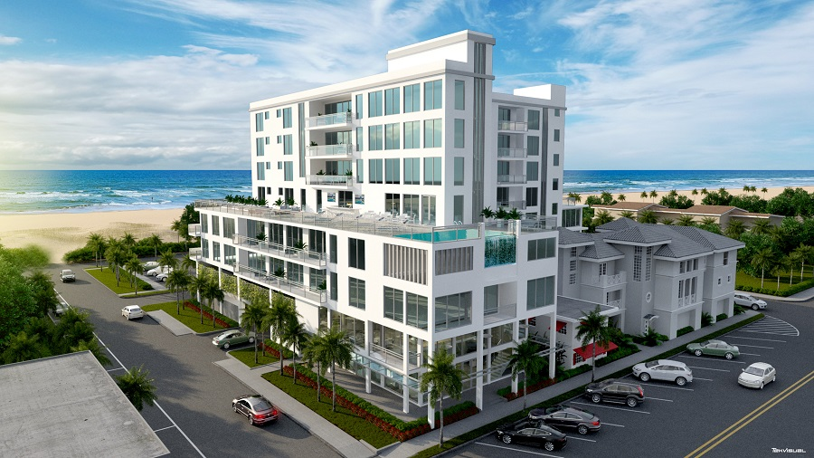 Located On The North End Of Clearwater Beach Just Steps From Sand Is Where Avalon Will Soon Be Built 34 Unit Boutique Property A