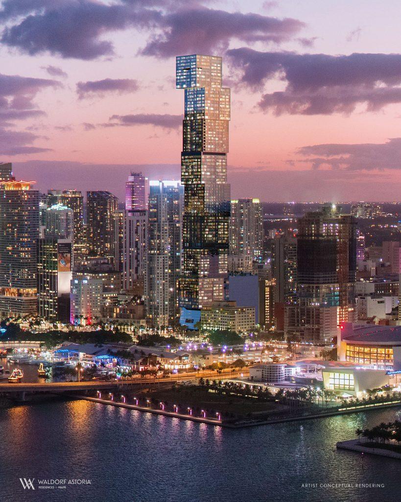 Waldorf Astoria Residences Miami